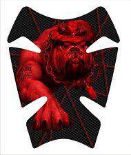 Marines Devil Dog Red Motorcycle Gel tank pad tankpad protector Tank Universal