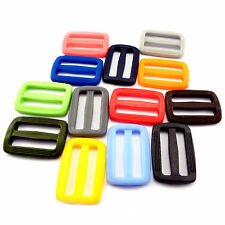 "30 mm / 1.18"" - plastic DELRIN buckles slider 3 bar slider for webbing strap AOE"