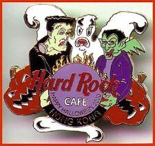 Hard Rock Cafe HONG KONG 2000 HALLOWEEN PIN Sexy Spider Girl Keyboard HRC #15131