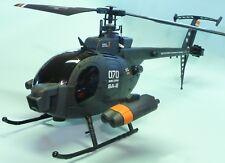 RC MAXI Hubschrauber Helikopter HUNTER Militär Länge 62 cm mit AKKU 2,4 GHz 70-1
