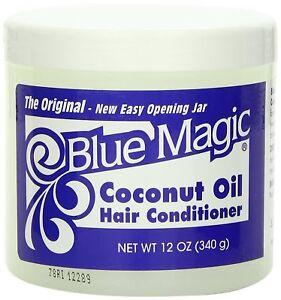 [BLUE MAGIC] COCONUT OIL HAIR CONDITIONER 12OZ