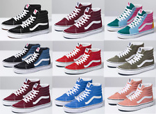 Vans CLASSIC SK8 Hi Canvas Sneaker Shoes All Size NEW IN BOX ! Fast Shipping !