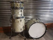 Used Ludwig Super Classic Drum Set - Vintage White Oyster -  13,16,22