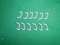 Lionel 8477-6 grab handles (steps) for GP Diesel ( 12 pieces)