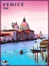 Venice Italy Italia Italian City of Water Travel Advertisement Art Poster Print