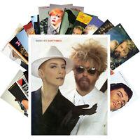 Postcards Pack [24 cards] Eurythmix Annie Lennox Electronic Pop Music CC1244