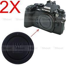 2x Caméra Boîtier Couvercle Pour Olympus OM-D e-m1 e-m5 e-m10 Pen ep1 ep2 ep3 ep5