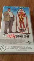 THE NUTTY PROFESSOR  -EDDIE MURPHY, JADA PINKETT - VHS VIDEO