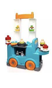 Mega Bloks Food Truck Kitchen BRAND NEW! Ages 1-5 32 Blocks
