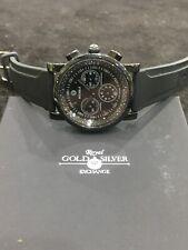 Michele Sport Sail Noir Black Diamond Watch MW01C02G4937