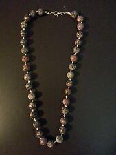 Leopard Print Jasper Beads Leopard Stone Round Top Grade A-10mm necklace hndmade