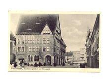 AK NORDHAUSEN 1917 , Sparkassengebäude und Kornmarkt