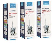 3 x Alvito Filtre à eau ABF Duplex SD AquaNevo - Charbon actif à bloc 1,5 µm