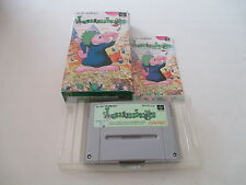 >> LEMMINGS SUNSOFT SFC SUPER FAMICOM JAPAN IMPORT COMPLETE IN BOX! <<