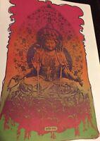 Peter Max Shiva Religion 1970 Pop print Wall Fine Arts Poster