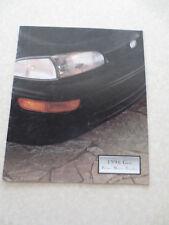 1996 Chevrolet Geo Metro Prizm & Tracker cars advertising booklet - Chev