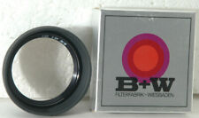 B&W 46 E Skylight Filter & collapsable Lens hood combination, new in box
