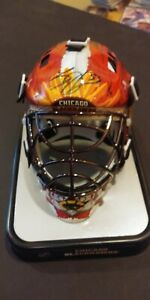 Scott Darling Autographed Chicago Blackhawk Mini Helmet