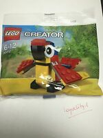 LEGO Creator Polybag 30472 Parrot Perroquet Neuf Sachet Scellé
