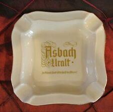 Vintage Cream Ceramic Asbach Uralt Ash Tray  Heinrich Germany