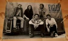 Eagles When Hell Freezes Over Original 1994 Usa Promo Poster Great Band Shot!