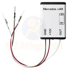 Esterilla mercedes s w221 año de fabricación 2007+ sede detección SRS sensor airbag