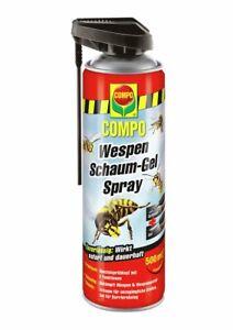 Compo Wespen Schaum-Gel Spray 500 ml Wespenabwehr Wespenspray Wespenbekämpfung