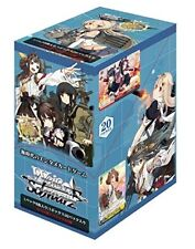 Bushiroad Weiss Schwarz Booster Pack Kantai Collection KanColle Trading Card Box