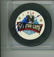 Mark Messier 1994 All Star Game Signed Autographed Puck