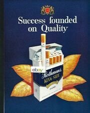 ROTHMAN'S KING SIZE FILTER CIGAREETES SUCCESS FOUNDED ON QUALITY 1965 AD