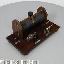 altes Detektor Röhrenradio Radio Kristall Detektorempfänger Art Dèco 30er Jahre