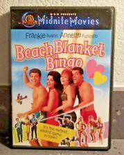 Beach Blanket Bingo  (DVD 1965)  Frankie Avalon  Comedy  Not Rated  Pre-owned LN