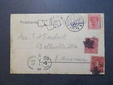 Germany 1907 Postcard w/ US Dues - Z7998