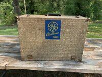 Vintage GE General Electric Electronic Tubes Tool Box Repair Kit Advertising