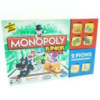 Jeu de société - Monopoly Junior - Hasbro - 2014 - Complet 100%