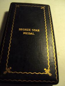 WW2 Bronze Star-Lapel Pin- Coffin Case W/Documentation Papers