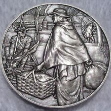 DAR Medal - MARY WORRELL KNIGHT, Great Women of the American Revolution