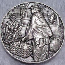 DAR Medal - MARY WORRELL KNIGHT, American Revolution