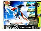 Air Hogs R/C Sky Stunt White Plane Flies Up To 300 Feet Brand New