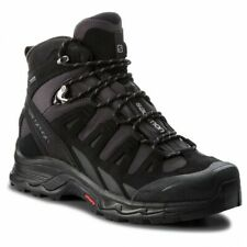 Salomon Quest prime GTX Leather Mens Black Waterproof Trail Hiking Boots 404637