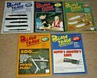 Lot of 5 BLADE TRADE Magazines Winter Summer Fall 1994 & 1995 Volumes 6 & 7