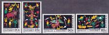 Dahomey 198-201 Mnh 1965 Abomey Tapestry Full Set Very Fine