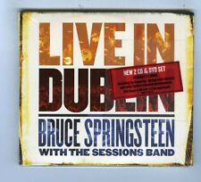 BRUCE SPRINGSTEEN WITH THE SESSIONS BAND 2 CDs + DVD(NEW) LIVE IN DUBLIN