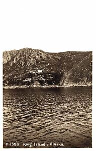 RPPC,King Island,Alaska,Bering Sea,c.1950s