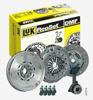 VW TRANSPORTER 2.5 TDI LUK DUAL MASS FLYWHEEL CLUTCH KIT AXD BNZ T5 130 03-09