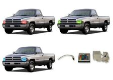 for Dodge Ram 1500 94-02 RGB Multi Color IR LED Halo kit for Headlights