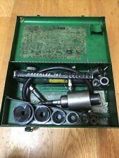 Greenlee 767 Hydraulic Hand Pump Knockout Set
