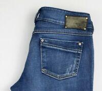 Diesel Damen Stretch Bootcut Jeans Größe W29 L32 AKZ207