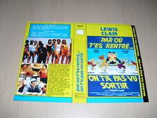 JAQUETTE VHS Par où t'es rentré ? On t'a pas vu sortir Jerry Lewis