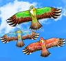 1.1M Flying Eagle Kite Novelty Animal Kites Outdoor Sport Kid's Fun Toy AU